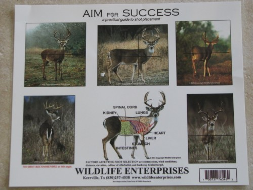 Deer Kill Zone Chart