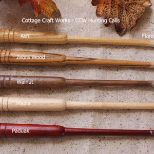 Flared-Tip-Turkey-Call-Striker-Sticks