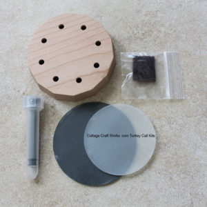 Slate over glass turkey friction call kit